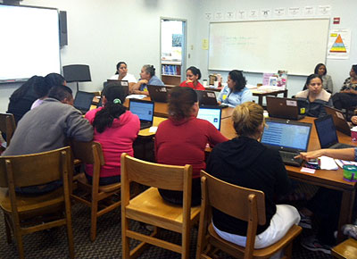 Conexiones parents computer workshop-ACPS
