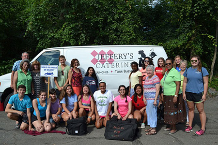 Jeffrey's Catering truck w group_cropped-Alex Gazette
